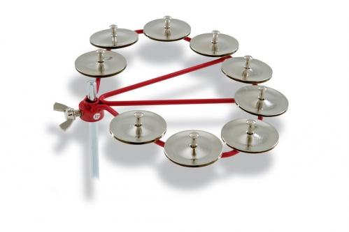 Latin Percussion Tamburyn Hi-Hat Stalowe dzwonki