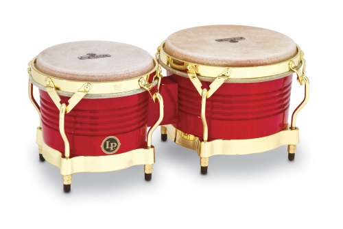 Latin Percussion Bongo Matador Wood Red