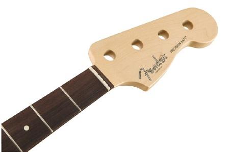 Fender American Professional Precision Bass Neck, 20 Narrow Tall Frets, 9.5″ Radius, Rosewood gitara basowa
