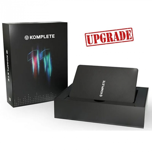 Native Instruments Komplete 11 Upgrade - Upgrade dla posiadaczy Komplete 11 Select, Kontakt 1-5, instrumentów Konrol S, Maschine