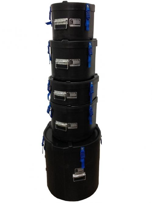 Roadcase Fusion Set zestaw sztywnych casów na bębny