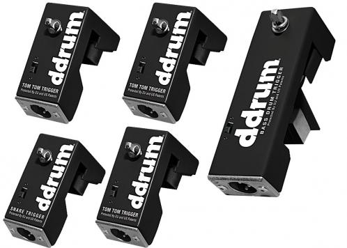 Ddrum DRT-Kit - zestaw triggerów perkusyjnych