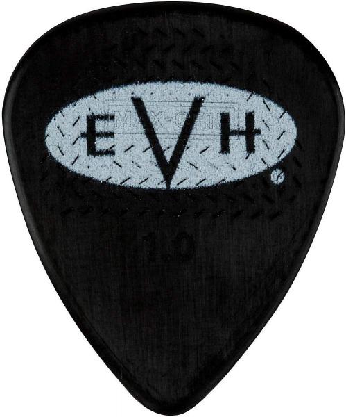 EVH Signature Picks, Black/White, 1.00 mm, 6 Count kostki do gitary