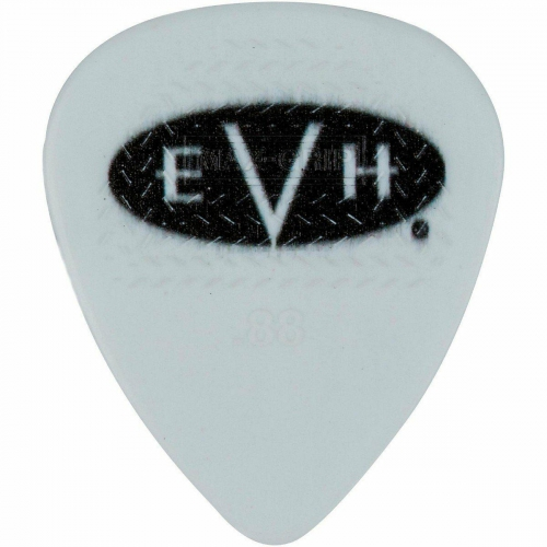 EVH Signature Picks, White/Black, .88 mm, 6 Count kostki do gitary