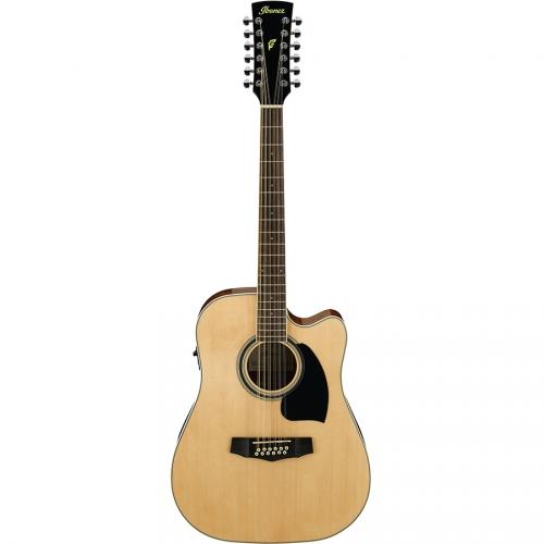 Ibanez PF1512ECE-NT Natural High Gloss gitara elektroakustyczna 12-strunowa