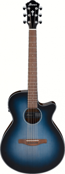 Ibanez AEG50-IBH Indigo Blue Burst High Gloss gitara elektroakustyczna
