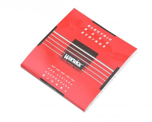 Warwick 46300 Red Lab Nickel struny do gitary basowej 5-strunowej 40-130