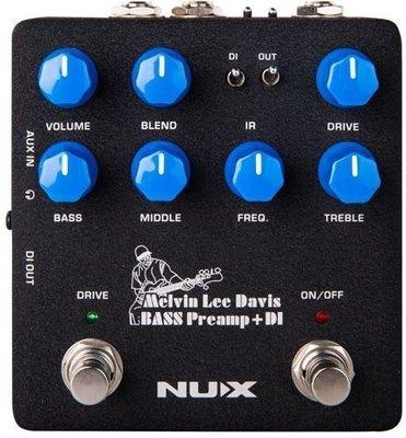 Nux NBP-5 MLD Bass Preamp DI efekt do gitary basowej