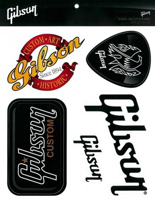 Gibson Sticker Pack zestaw naklejek