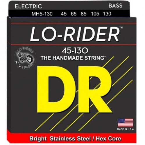 DR MH5-130 Lo-Rider struny do gitary basowej pięciostrunowej 45-130