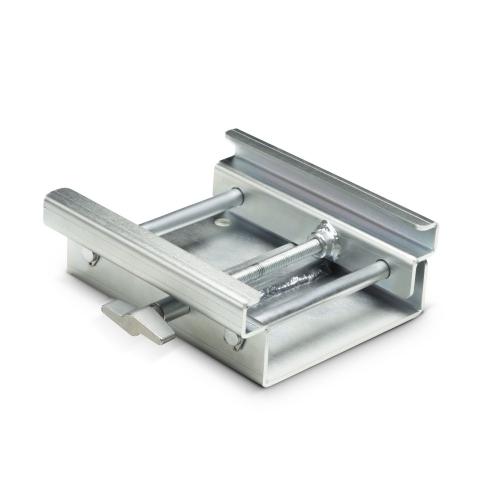 Adam Hall Accessories TENTCLAMP S - Regulowany zacisk, ocynkowany, srebrny