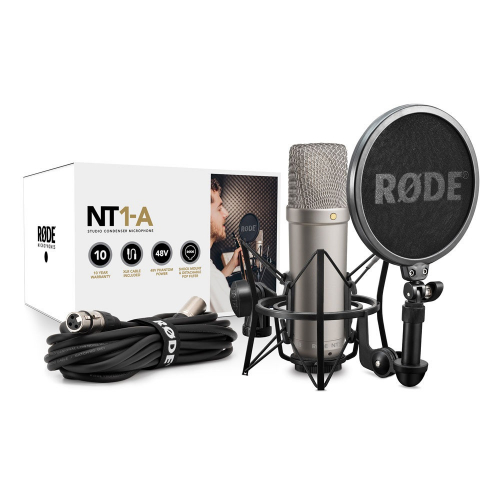 Rode NT1-A Kit studyjny mikrofon pojemnociowy z akcesoriami