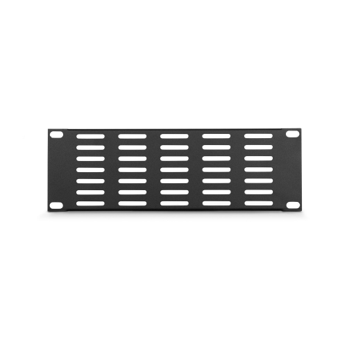 Adam Hall Parts 86222 VH - Panel wentylacyjny w ksztacie litery U, 9,5′′, 2U, poziome otwory wentylacyjne