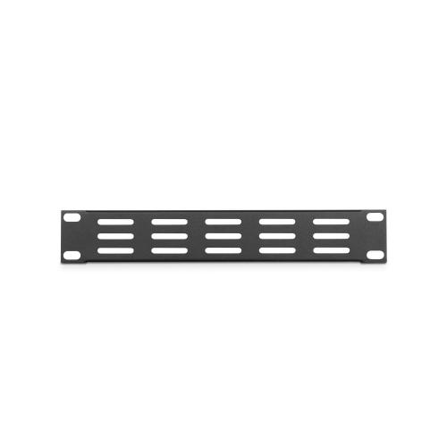 Adam Hall Parts 86221 VH - Panel wentylacyjny w ksztacie litery U, 9,5′′, 1U, poziome otwory wentylacyjne