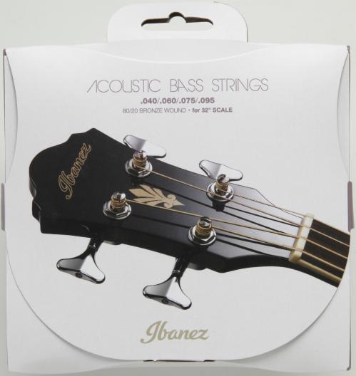 Ibanez IABS4C32 struny do gitary basowej akustycznej 40-95 80/20 Bronze 32″ scale