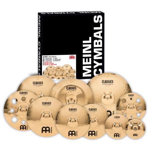 Meinl Classics Custom Triple Bonus Set zestaw talerzy perkusyjnych