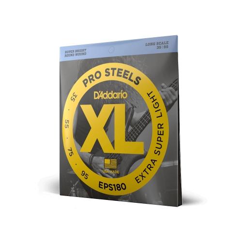 D'Addario EPS 180 Pro Steels struny do gitary basowej 35-95