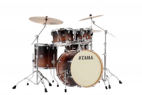 Tama Shell Kit5 Superstar Classic Maple Coffee Fade + MM5WN Hardwarekit zestaw perkusyjny