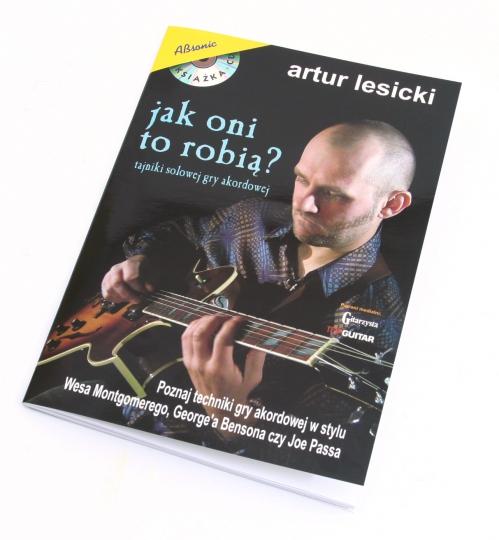 "AN Lesicki Artur ""Jak oni to robią"" + CD"