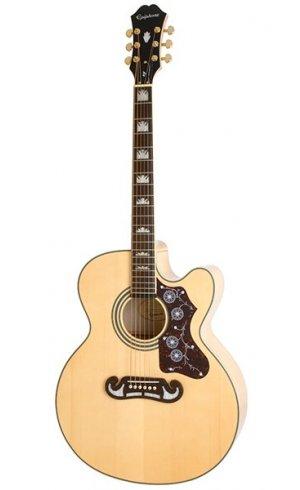 Epiphone J-200EC Studio Solid Top Fishman Sonitone VN Vintage Natural gitara elektroakustyczna
