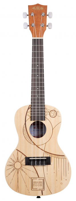 Kala mxmtoon Signature ukulele koncertowe