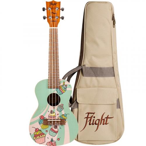 FLIGHT AUC33 Cupcake ukulele koncertowe
