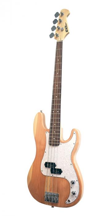 Newen Precision Bass Natural Wood gitara basowa