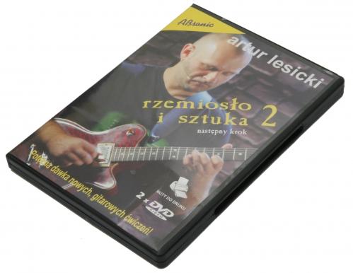 """AN Lesicki Artur """"Rzemiosło i sztuka cz.2""""  DVD x2"""