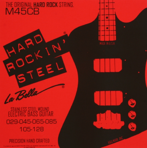 LaBella HRS M-45CB struny do gitary basowej 29-128