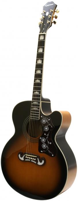 Epiphone EJ200 SCE VS Vintage Sunburst gitara elektroakustyczna