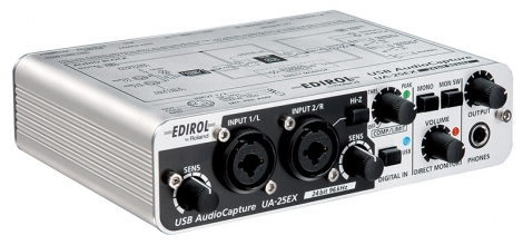 Edirol UA-25EX interface audio USB