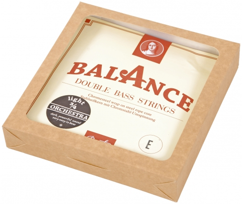 Presto Balance Orchestra struny kontrabasowe stalowe 3/4 (light)