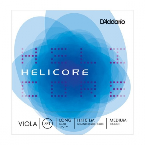 D'Addario Helicore H-410 Long Scale struny altówkowe (medium)