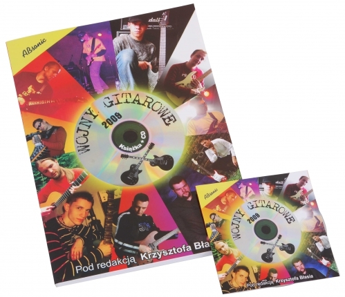 """AN Błaś Krzysztof """"Wojny gitarowe 2009"""" + CD"""