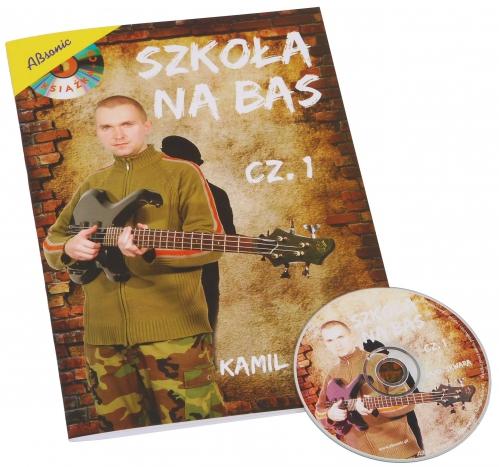 """AN Skwara Kamil """"Szkoła na bas cz.1"""" + CD"""