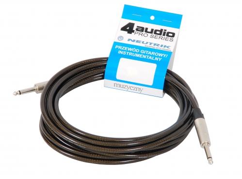 4Audio GT1075 6m przewód gitarowy Jack Jack
