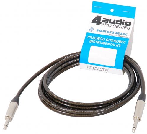 4Audio GT1075 4.5m przewód gitarowy Jack Jack