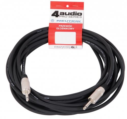 4Audio LS2250 10m przewód głośnikowy 2x2,5mm z Jackiem (TS)
