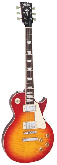 Vintage V100CS gitara elektryczna, Cherry Sunburst