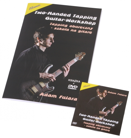 """AN Fulara Adam """"Tapping oburęczny- szkoła gry na gitarę"""" + DVD"""