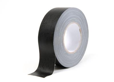 Allcolor 691-50S gaffa taśma czarna matowa