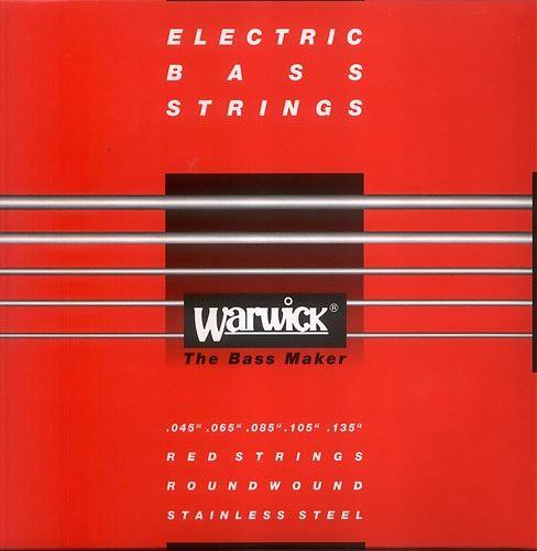 Warwick 42301 Red Lab Stainless Steel struny do gitary basowej 45-135