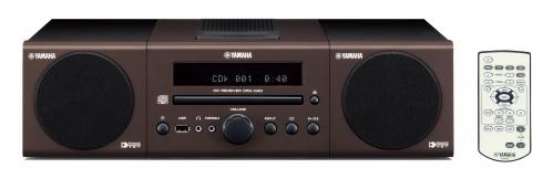 Yamaha MCR-040 miniwieża CD/USB, kolor brązowy