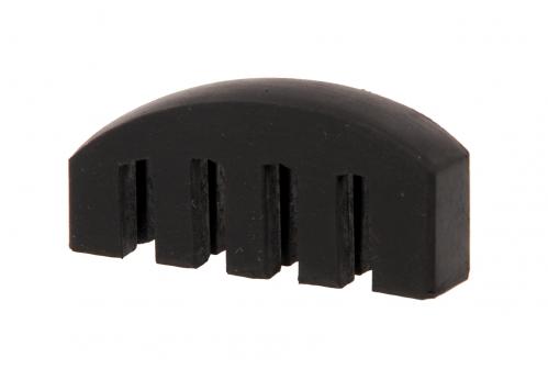 AN Tłumik skrzypcowy grzebień (gumowy)