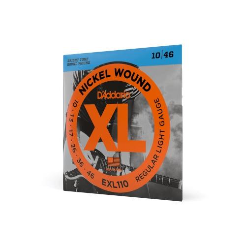 D′Addario EXL 110 struny do gitary elektrycznej 10-46