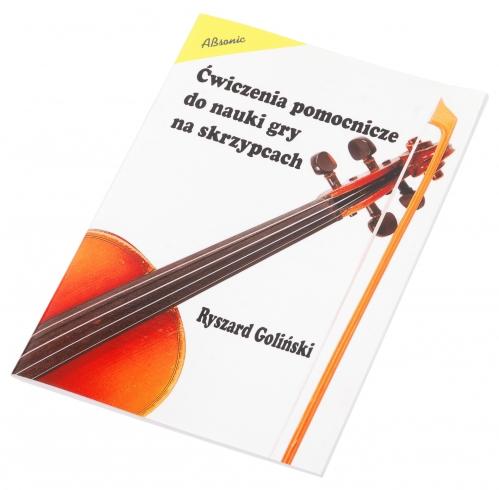 """AN Goliński Ryszard """"Ćwiczenia pomocnicze do nauki gry na skrzypcach"""""""