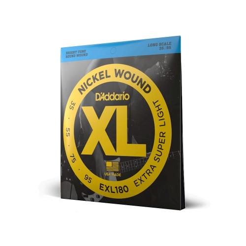 D'Addario EXL 180 struny do gitary basowej 35-95