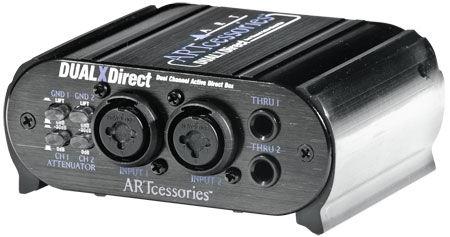 Art Dual X-Direct Di-Box aktywny, 2 kanały