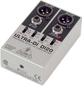 Di-Box  อุปกรณ์ที่คนทำระบบเสียงต้องทำความรู้จัก