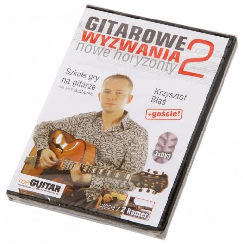 """AN Błaś Krzysztof """"Gitarowe wyzwania 2"""" DVDx3"""